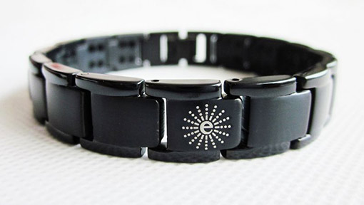 Titanium Energy Bracelet | Black