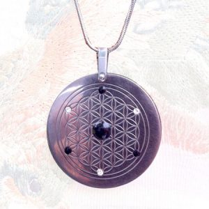 Titanium Energy Pendant | Three Star Design