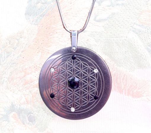 Titanium Energy Pendant | Three Star Design