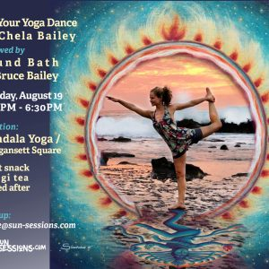 Let your yoga dance by Chela Bailey
