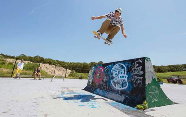 Skateboarding lessons in the Hamptons